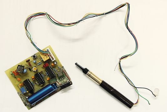 Hon Lik's Prototype E-cigarette