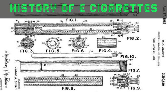 history of e-cigarettes