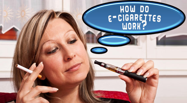 How do e-cigarettes work?