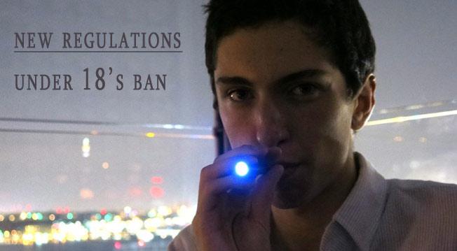 Under 18's Ban
