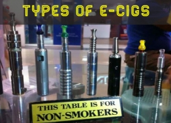 Different types of E-cigs explained