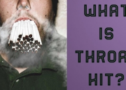 What is throat hit?