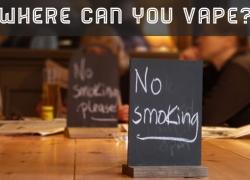 Where Can You Legally Use E-Cigs